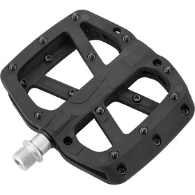 e*thirteen Base Flat Pedals 22 Pins black